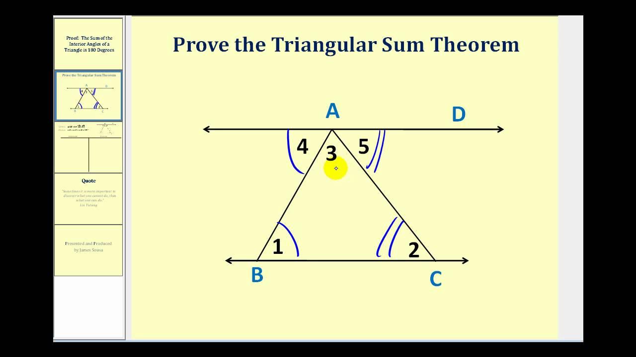hight resolution of Triangle Sum Theorem (solutions