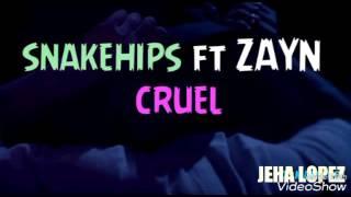 Zayn Ft Snakehips- Cruel Letra Espa�ol Y Ingles