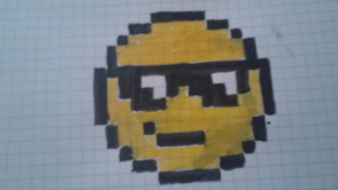 Smiley Pixel Art