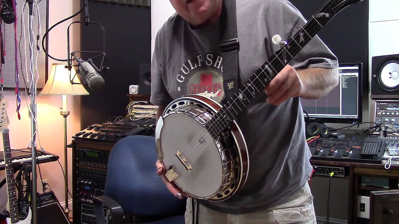 Deering Sierra banjo UPGRADE - OMG !!