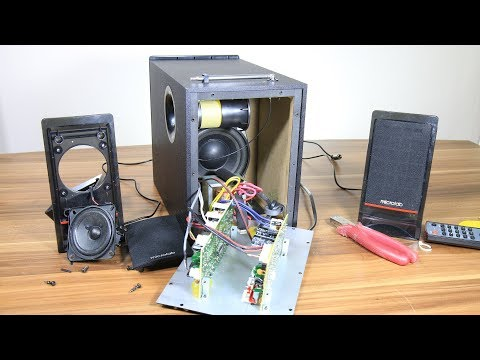 look inside microlab m 700u pc multimedia 2 1 speakers youtube Mackie Computer Speakers
