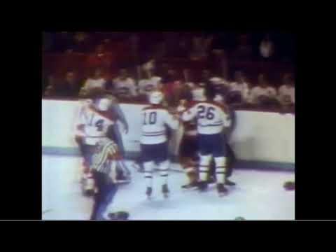 Serge Savard (Montreal) vs. Dave Schultz (Philadelphia)
