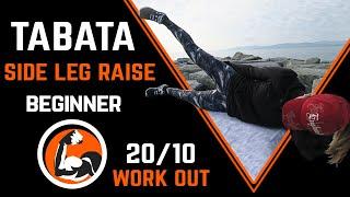 TABATA Workout for Butt - Beginner - 20/10 interval