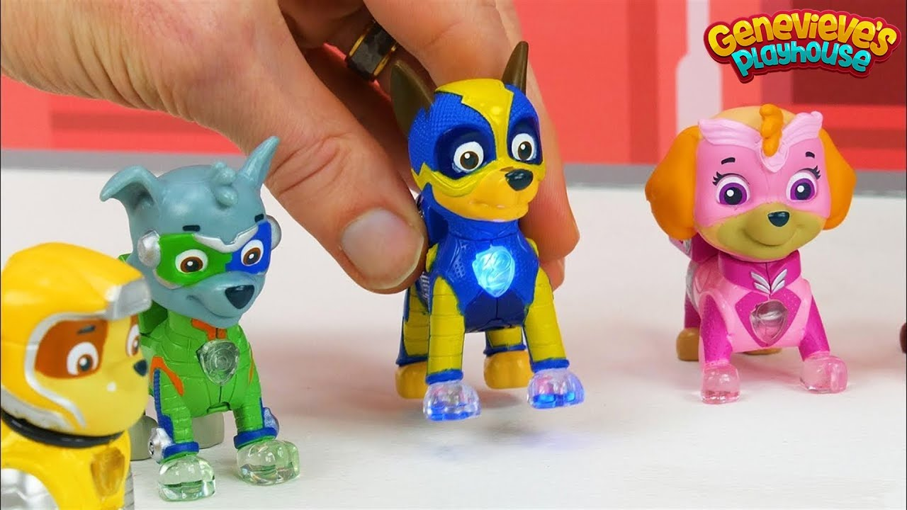 Paw Patrol Mighty Pups Vs Romeo Wrong Color Video For Kids
