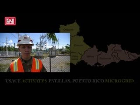 USACE Activates Another Microgrid in Puerto Rico