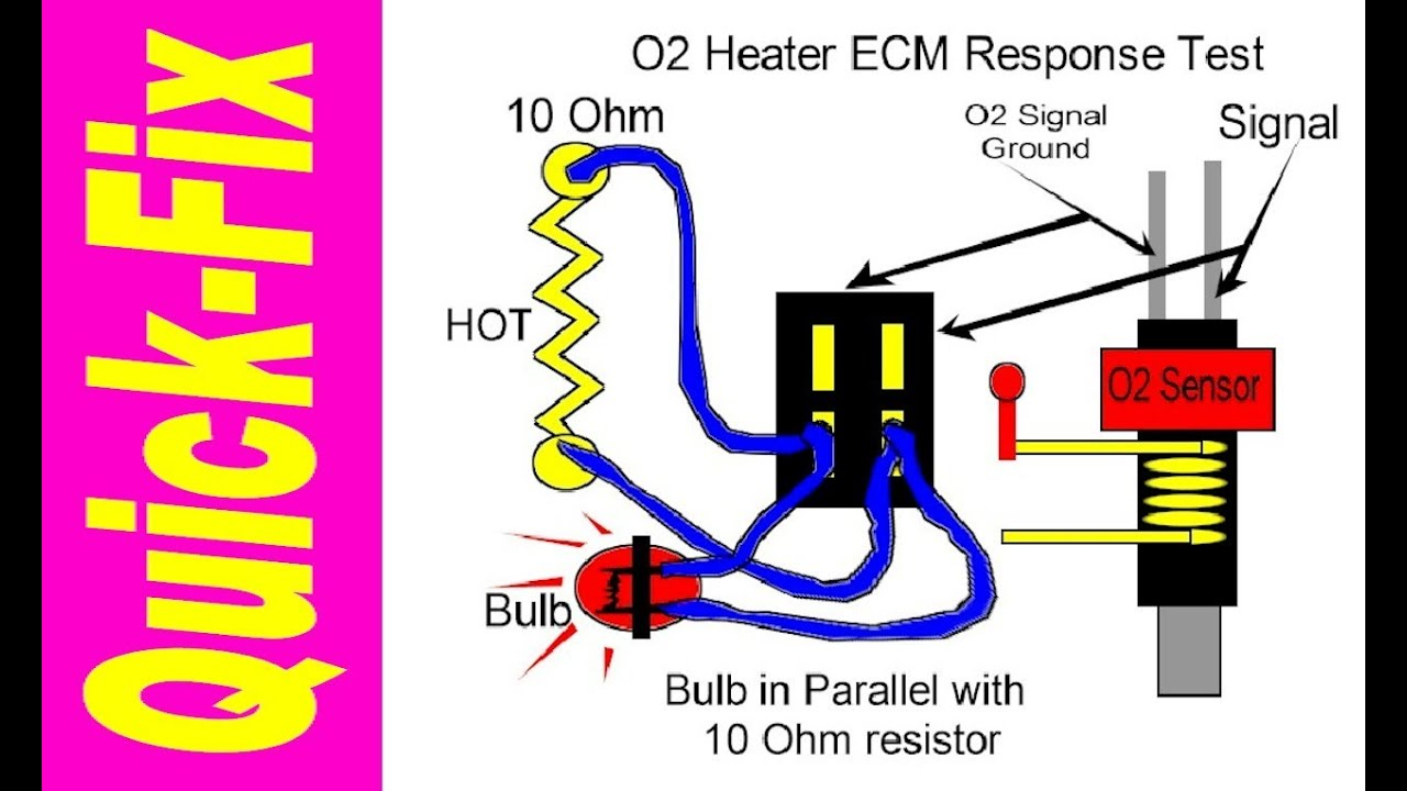 medium resolution of o2 sensor heater quick fix