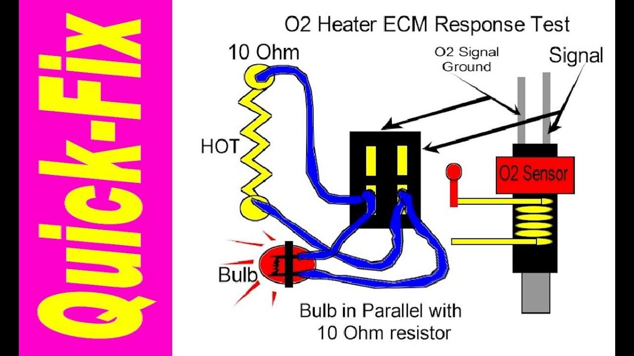 2008 Mitsubishi Lancer Wiring Diagram Jacuzzi O2 Sensor Heater Quick-fix - Youtube