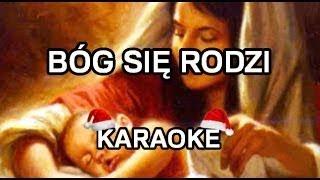 Kolędy - Bóg się rodzi [WYŻSZA TONACJA] - Karaoke!