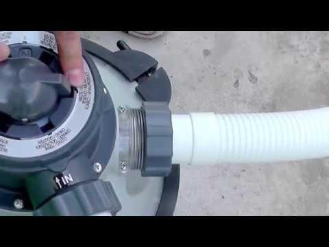 Инструкция-обзор по режимам песочной фильтрационной установки Intex