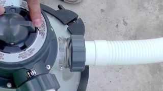 Інструкція-огляд по режимам пісочної фільтраційної установки Intex