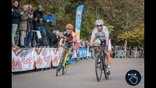 """Francis Mourey gagne """"Le Cyclo-cross international de Dijon 2017"""" de Gérard Courant"""