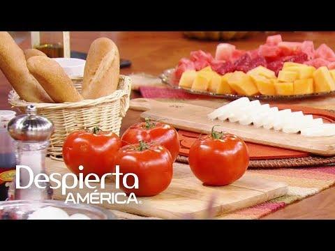 Receta de la tradicional ensalada caprese italiana