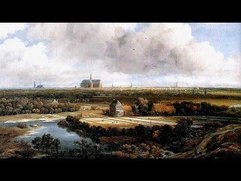 Jacob van Ruisdael, vantage points of his views of bleaching grounds near Haarlem - St Bavo 3