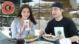 Download lagu My First Date With a Kpop Star! (I Took Chung Ha to Chipotle lol)