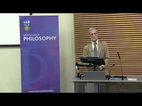 "Prof John McDowell: ""Are the senses silent?"""
