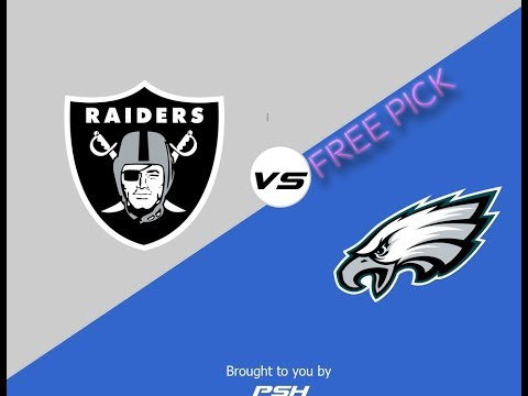 Oakland Raiders vs Philadelphia Eagles NFL Football Free Pick/Prediction Week #16 12/25/2017