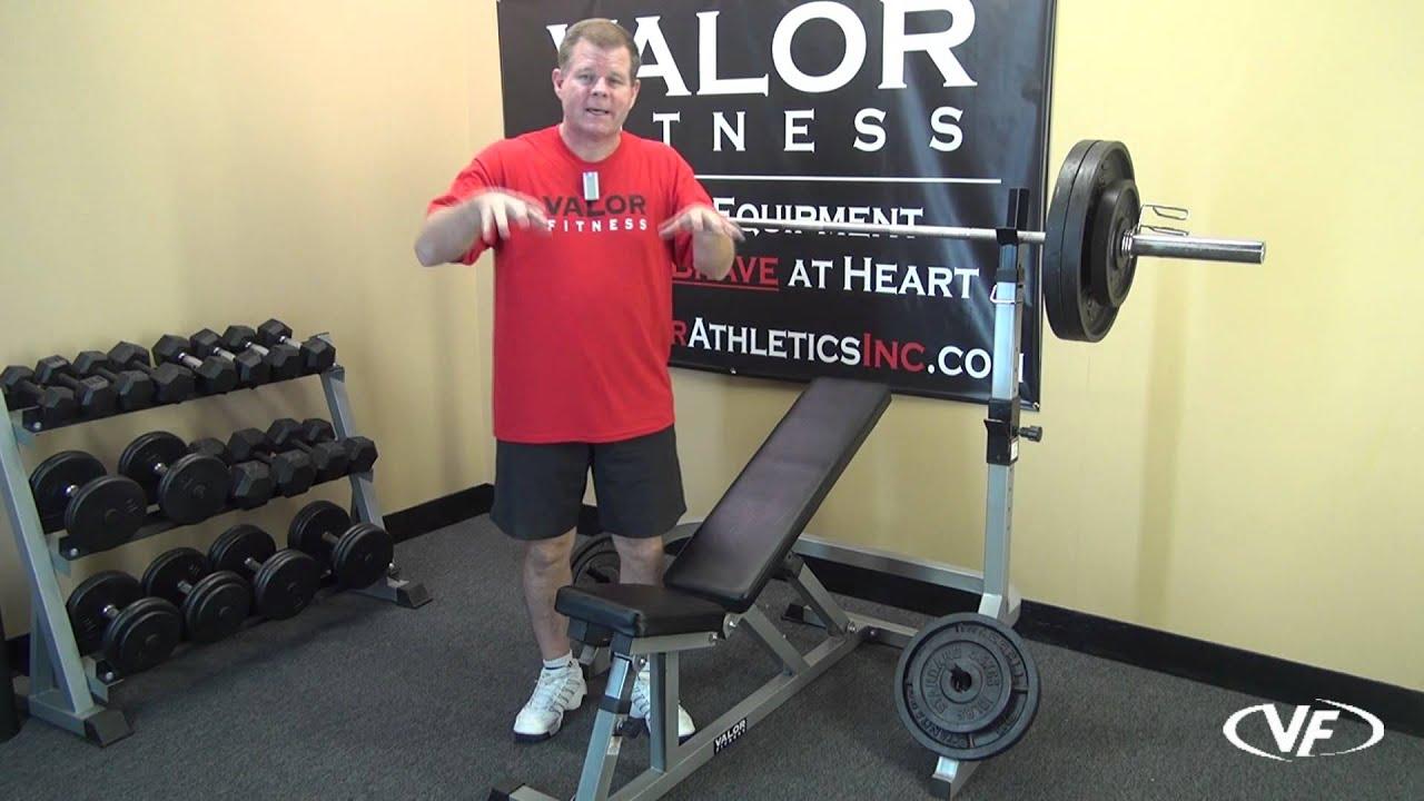 Valor Fitness Bd 17 Squat Rack Youtube
