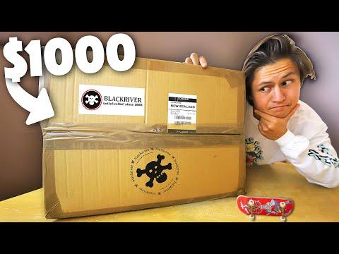 HUGE $1000 FINGERBOARD