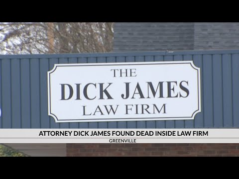 Veteran Defense Attorney Dick James Found Dead At Law Firm