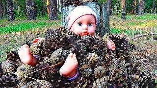Куклы! Беби Бон танцуют, поют. Шоу Беби Борн в лесу. Отбор в мультик про кукол. Baby born baby doll