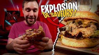 Ce burger va vous faire saliver... Une tuerie !!