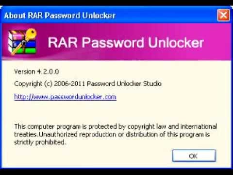 rar password unlocker 4.2.0.0 + activator