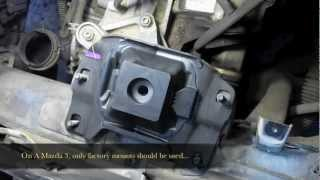 Mazda repairs 85016 - Mazda 3 Trans Mount Failure - Tony's Service Center