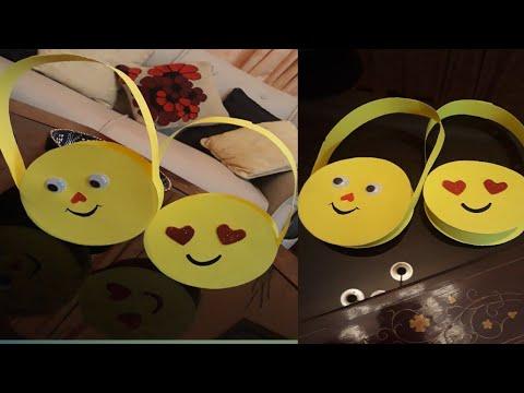 DIY paper bag#smily bag#Emojiees#handbag