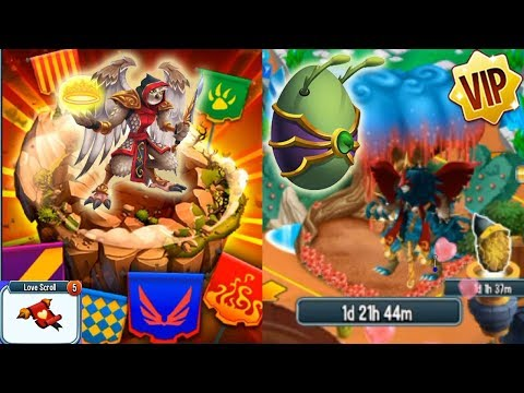 Monster Legends - YAMADA Titan Event & VIP 3rd Breed Lord Atlantis Darkzgul Get Scarr The Outcast