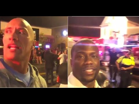 Funny Kevin Hart Instagram Photos The Rock vs Kev...