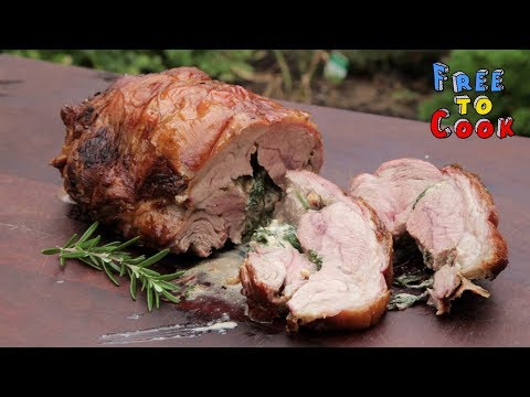 How To Cook A Stuffed Roast Leg Of Lamb