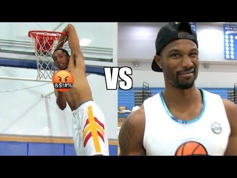Dunk Battle! Jonathan Clark VS Chris Staples!