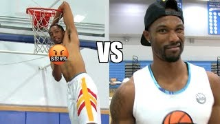 Dunk Battle! Jonathan Clark VS Chris Staples! Dunk League rematch! Video