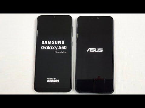 Samsung A50 Vs Asus Zenfone Max Pro M2 SpeedTest Comparison !!!!