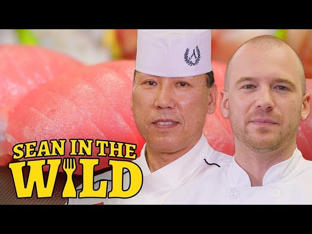 Sean Evans Learns How to Make Sushi   Sean in the Wild