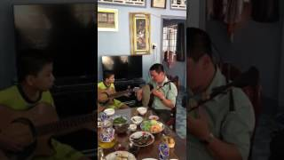 Tình sử Trương Chi- Kìm và Guitar: NS Quốc Tú và con trai