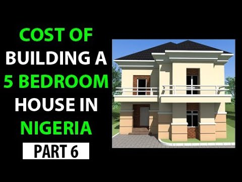 Building a 5 Bedroom 2 Storey House in Nigeria COST # 6 GROUND FLOOR CONCRETE