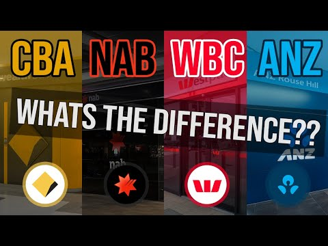 What's The Difference Between Big 4 Banks in Australia? | CBA NAB WBC ANZ Review
