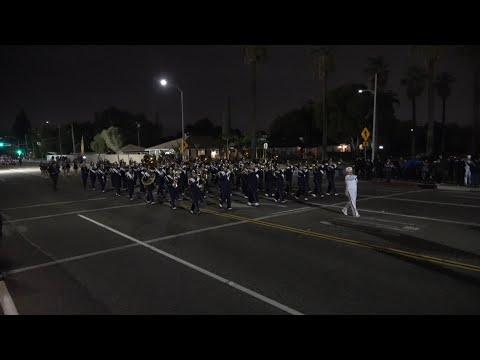 Montebello HS - Who's Who In Navy Blue - 2019 Covina Christmas Parade