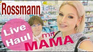 Rossmann LIVE HAUL mit MAMA ❤️ Unser Drogerie Einkauf | Mamacobeauty