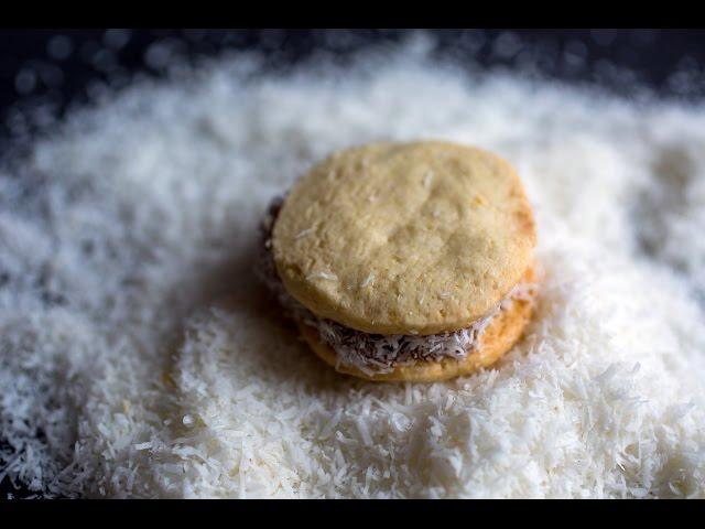 焦糖牛奶醬夾心餅乾