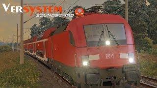 LET`S PLAY Train SimuĮator 2014 / Eurosprinter(Taurus) mit Versystem Soundboard