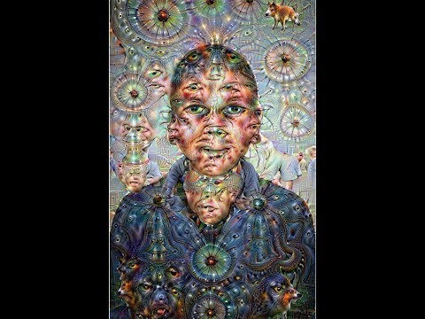 Alex Grey, Artifical (General) Intelligence, & Google Deep Dream —  Connections.