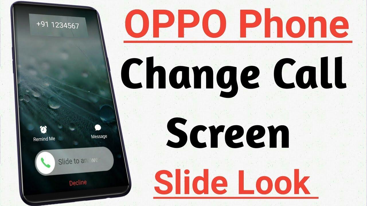 Oppo A3s Android phone ke call dailar pad me apna photo