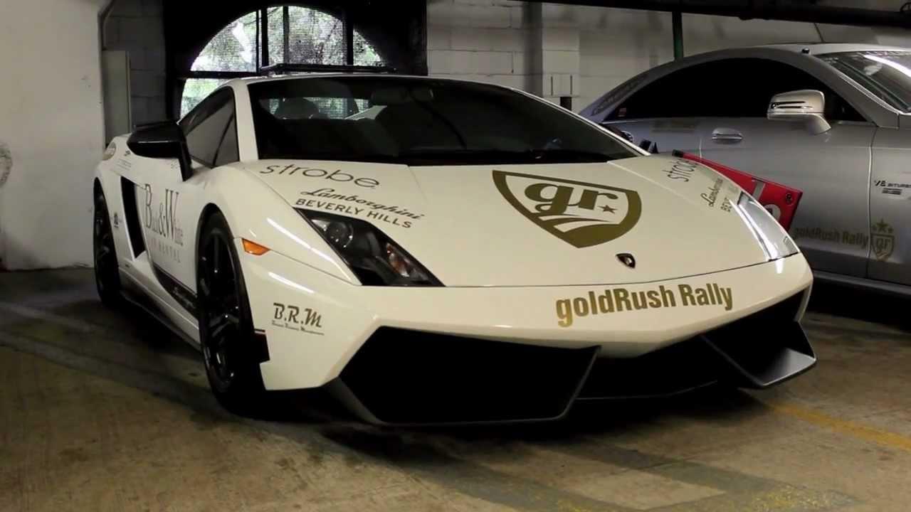 2012 Goldrush Rally 4 Underground Racing Stage R Twin Turbo Lamborghini Gallardo