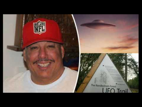 RENDLESHAM Forest New Witness, Steve Longero Says Object was Alien 👽