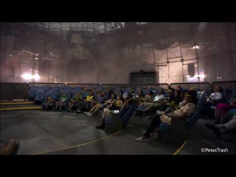Hulk 3D Epsilon Base Broken Down at IMG Worlds of Adventure, Dubai