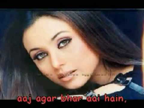 TUJHSE NARAAZ NAHIN ZINDGI KARAOKE hindi song with lyrics thumbnail