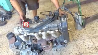 تشغيل محرك السيارة ديزل على الارض - Démarrage Moteur diesel sur le sol