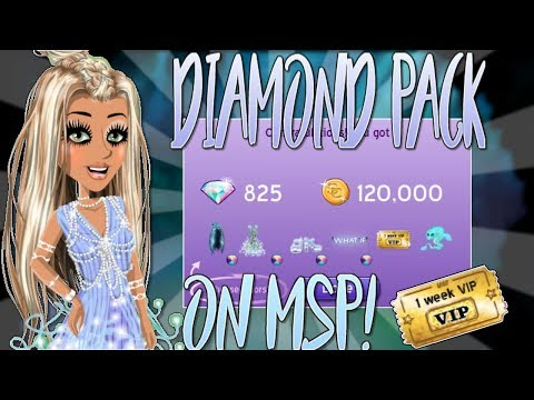 DIAMOND PACK + VIP TICKET GIVEAWAY! ♥